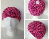 Custom Order- Messy bun Hat