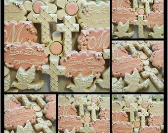 Baptism/Christening Cookies