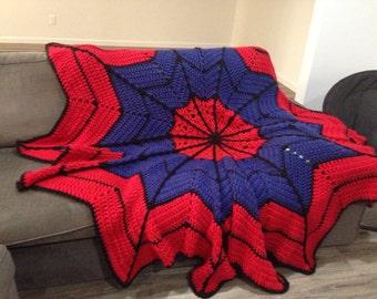 Crochet Round Ripple Afghan