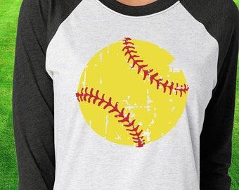 Softball svg, distressed Softball svg, dxf, eps, png, Softball Mom svg, Softball, files for cricut, iron on decal, Softball team svg, png