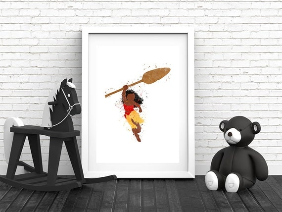 Printable Moana Hawaiian Wall Art Decor