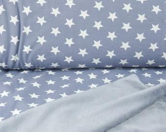 Alpenfleece Star Blue-grey