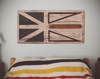 Newfoundland Patriot Flag Wall Hanging Art