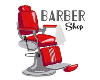 Salon chair etsy for Applique salon design