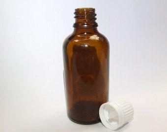 50mL Amber Tamper Evident Bottle