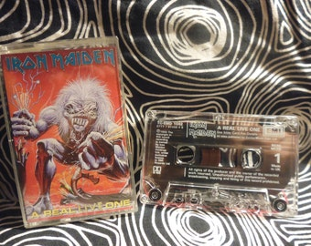 IRON MAIDEN TAPE a real live one
