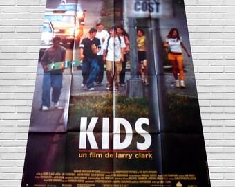 1995 KIDS original cinéma poster Larry clark
