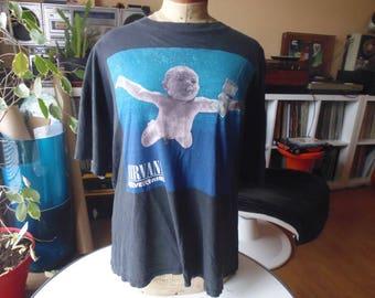 original T-shirt Nirvana 1991 smell like teen spirit