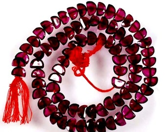 "AAA Quality Genuine GARNET BEADS ,5x3x2mm Size Gemstone Beads , Strand 13"" inch long,  Natural Garnet Beads Free Shipping"