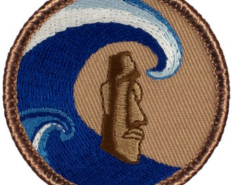 Big Kahuna Patch (294A) 2 Inch Diameter Embroidered Patch