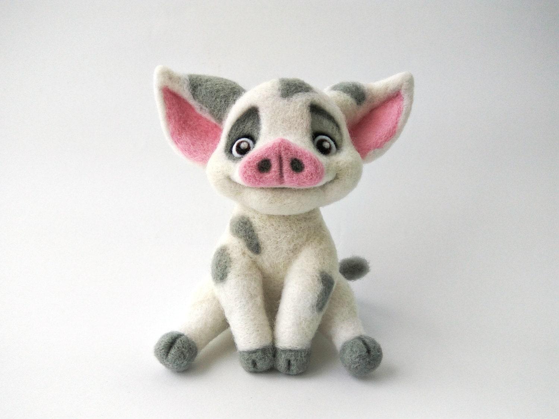 how to draw moana pig