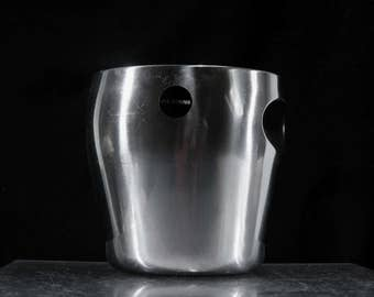 Alessi ice bucket / vintage barware space age ice bucket