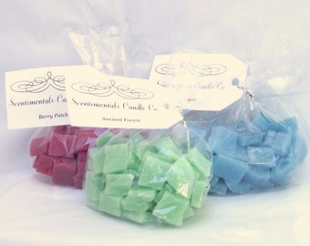 Scented Wax Melts Handmade 4 oz Bags You Pick Scent Scentimentals Candle Co
