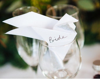 Origami Doves for Weddings