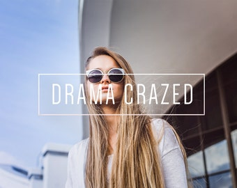 Drama Crazed Indie Muse Collection 3 Presets  4 Tool Presets 9 LR Brushes Lightroom Presets for Professional Results by LouMarksPhoto