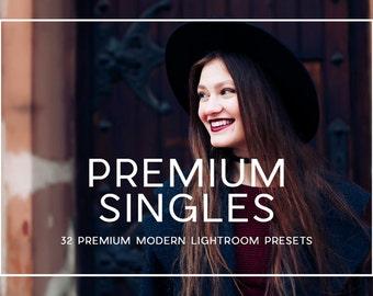 32 Professional Premium Modern Lightroom Presets Professional Photo Editing for Portraits, Newborns, Weddings By LouMarksPhoto