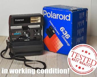Polaroid Close Up 636 Polaroid Camera Vintage Camera Retro Camera with original box Valentines day gift for photographer Gift for him