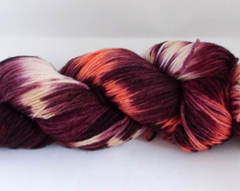 Sock Yarn: From the Ashes