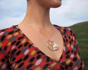 Twirly Cone Necklace