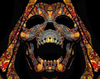 Carnival Reaper Sticker