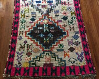 NAHLA Vintage Moroccan Rug 7'x5'