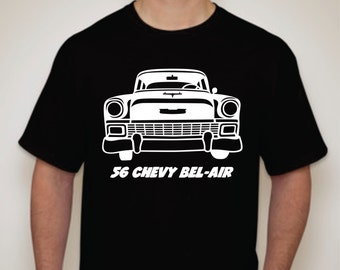 56 Chevy Bel Air T-shirt