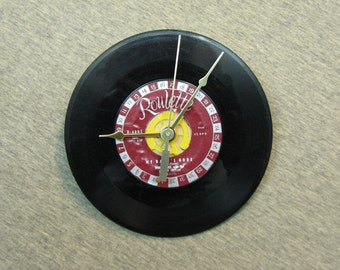 7 Inch Vinyl Record Wall Clock #2