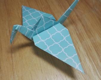 20 Origami Crane Wedding Favors / Baby Boy B1/1