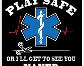 EMS T-Shirt, EMT T-Shirt, Medic T-Shirt, Star of Life Shirt