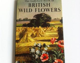 Vintage Ladybird book of British wild flowers