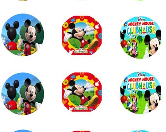 Mickey Mouse Edible Images