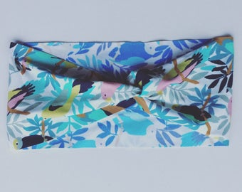 Active Yoga Headband - Birds and Branches