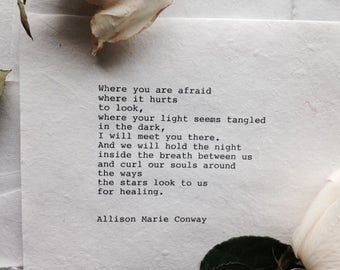 Where You Are - Poem