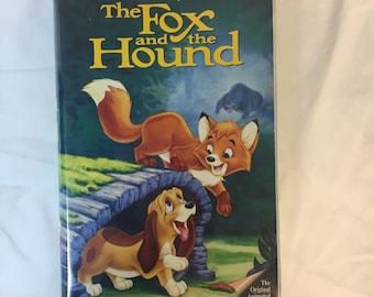 Rare Fox and the Hound VHS BLACK DIAMOND edition Walt Disney Classic