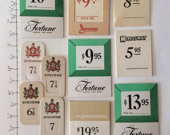 Vintage Tags (200 pieces)