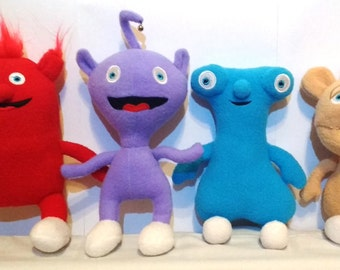 Rare Soft Plush Toys Just Like The Cuddlies from Baby TV *BRAND NEW*