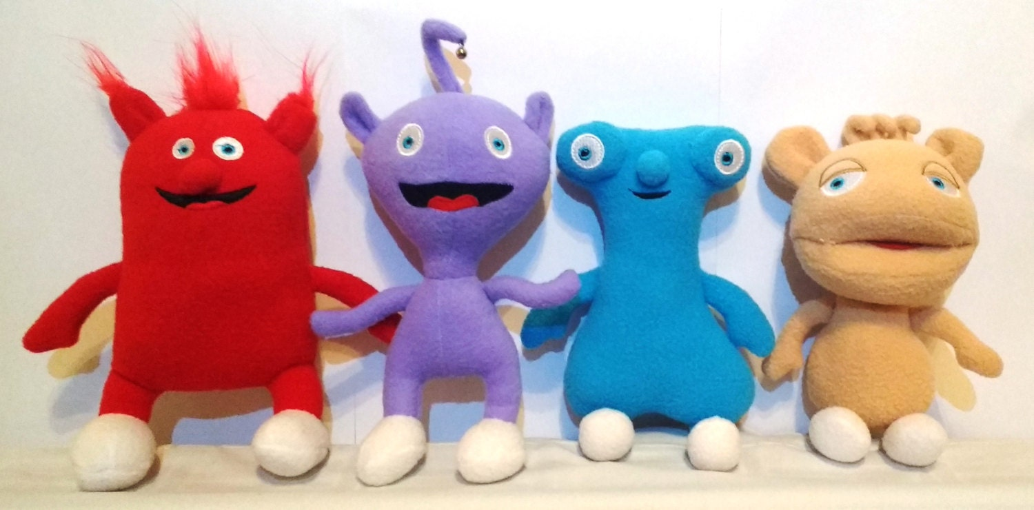 Like Toy Tv : Rare soft plush toys just like the cuddlies from baby tv
