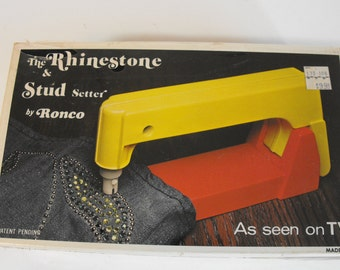 Ronco Rhinestone & Stud Setter Unopened 1973     (927)