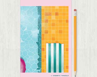 Poolside Notebook