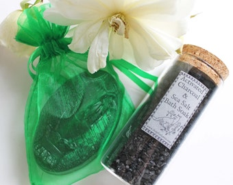Activated Charcoal Bath & Beauty Gift Set