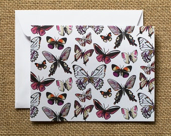 """BUTTERFLY NOTECARDS  