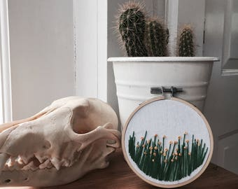 Small wildflower embroidery