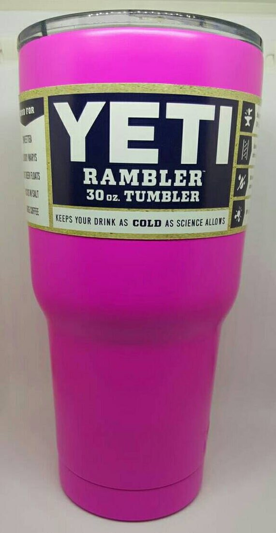 30 oz Powder coated Yeti cups with free custom by ...