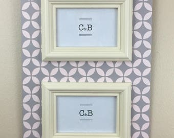 Handmade painted picture frame 4x6