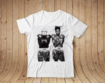 Andy Warhol & Basquiat t-shirt, shirt, cotton, all sizes