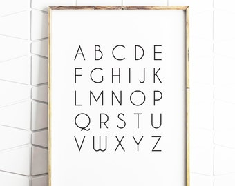 poster, abc poster, printable alphabet, alphabet poster, alphabet art, alphabet poster, digital poster, kid poster, abc posters