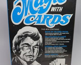 MAGIC CARDS New Magician Kit Entertainment Walt Disney Card Game Sealed Deland Svengali Adams SALE