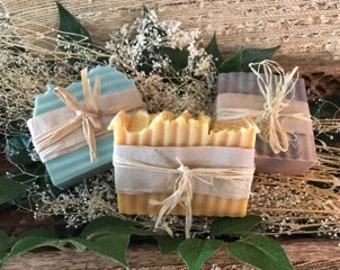 Handcrafted Soap~ Cold Process Soap~ Specialty~