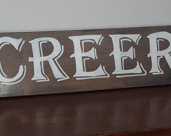 Creer - Spanish sayings and Quotes - Spanish signs - Believe sign in spanish - spanish home decorations, Spanish wall hangings, gift