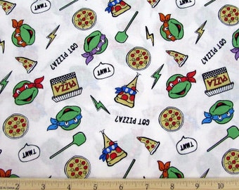 Nickelodeon Fabric- Teenage Mutant Ninja Turtles Fabric- TMNT fabric From Springs Creative